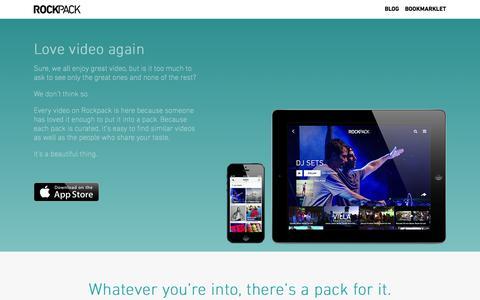 Screenshot of Team Page rockpack.com - Rockpack - captured Sept. 17, 2014