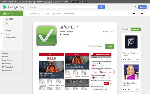 SafeSPEC™ - Android Apps on Google Play