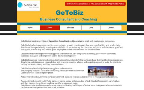 Screenshot of About Page getobiz.com - GeToBiz-About - captured May 15, 2017