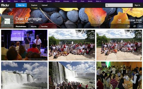 Screenshot of Flickr Page flickr.com - Flickr: Dale Carnegie - Airton Petry's Photostream - captured Oct. 23, 2014