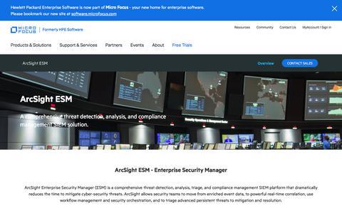 SIEM, Enterprise Security Information Event Management Solutions | Micro Focus