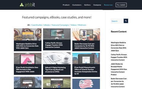 Case Studies | Jebbit