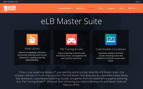 Screenshot of Pricing Page elearningbrothers.com - eLearning Template and Asset Library Pricing - captured May 8, 2019