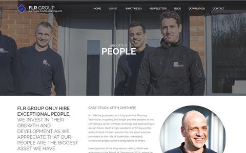 Screenshot of Team Page flr.co.uk - People | FLR Group | FLR Group - captured Oct. 5, 2014