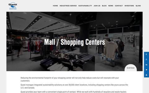 Mall / Shopping Centers - Quest Resource Management