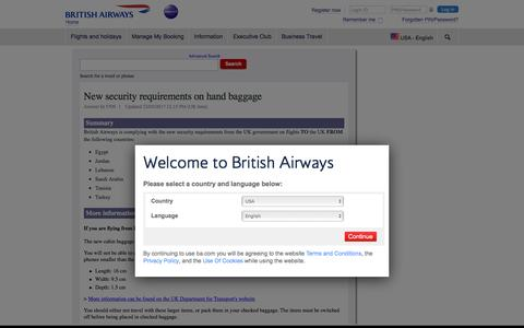 British Airways News - Latest BA News