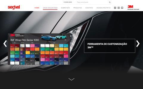 Screenshot of Home Page segvel.com.br - Segvel - captured Dec. 17, 2018