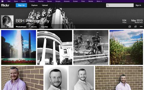 Screenshot of Flickr Page flickr.com - Flickr: BBH Photography's Photostream - captured Oct. 23, 2014