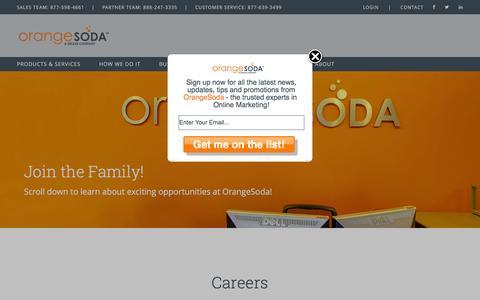 Careers | OrangeSoda