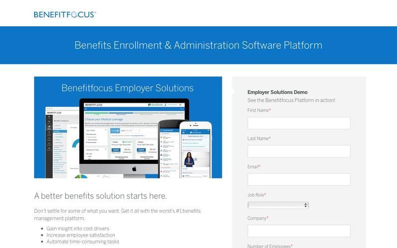 Benefits Enrollment & Administration Software Platform | Benefitfocus