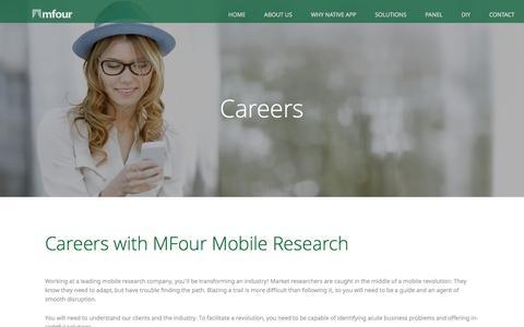 Careers | MFour