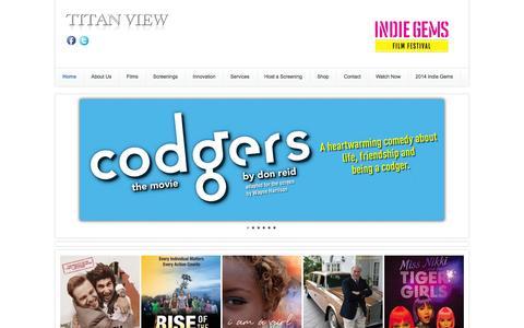 Screenshot of Home Page titanview.com - Home - captured Oct. 7, 2014