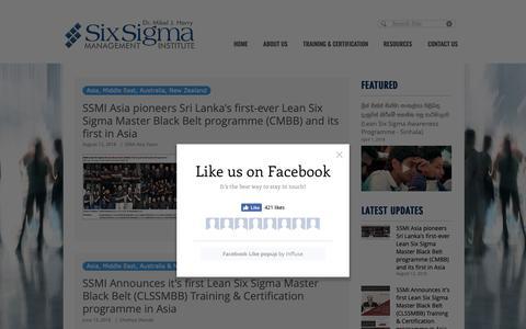 Screenshot of Press Page ss-mi.com - Recent Updates - captured Oct. 18, 2018