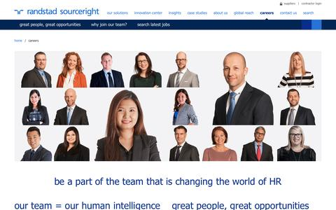Careers at Randstad Sourceright | Randstad Sourceright