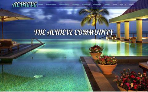 Screenshot of Products Page readytoachieve.com - Join The Best Network Marketing Opportunity Online - The Achieve Community - captured Nov. 4, 2014