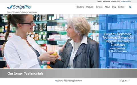 Biotech Testimonials Pages | Website Inspiration and