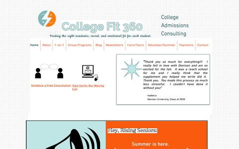 College Fit 360-College Admissions Consulting Los Angeles--Home
