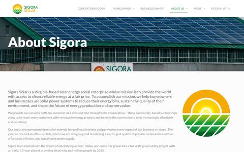 Screenshot of About Page gridserver.com - Meet the Team | Sigora Solar - captured Feb. 23, 2016