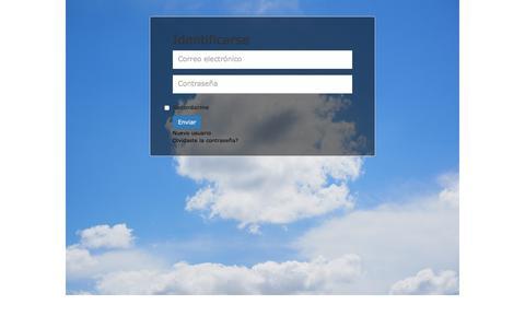 Screenshot of Login Page 101empresas.com - 101 Empresas - captured Aug. 11, 2016