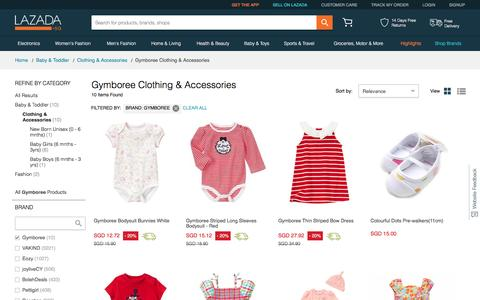 Gymboree Clothing & Accessories | 90% Off Brands you Love | Lazada SG