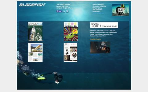 Screenshot of Testimonials Page bladefish.net - Testimonials | Bladefish - captured Oct. 1, 2014