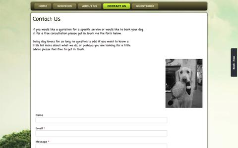 Screenshot of Contact Page woodlandpaws.co.uk - Woodland Paws, Contact Us | Woodland Paws - captured July 13, 2018