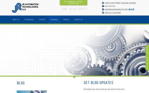 Screenshot of Blog jrauto.com - Blog - captured Oct. 15, 2017