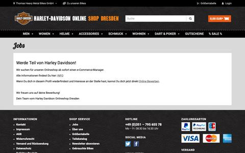 Screenshot of Jobs Page shop-harley-dresden.com - Jobs - captured Feb. 6, 2019