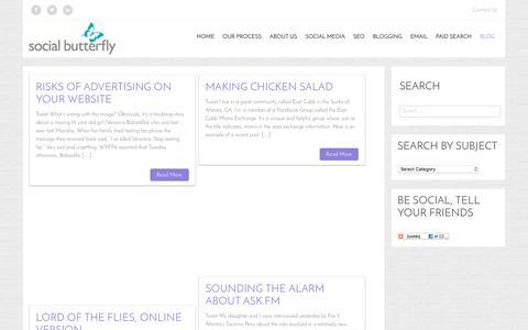 Blog – Social Butterfly Marketing