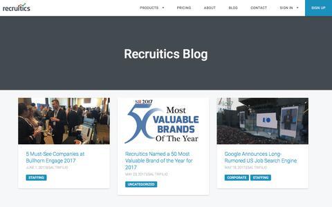 blog | Recruitics