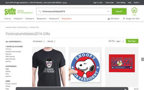 Fictionalcandidates2016 Gifts & Merchandise | Fictionalcandidates2016 Gift Ideas & Apparel - CafePress