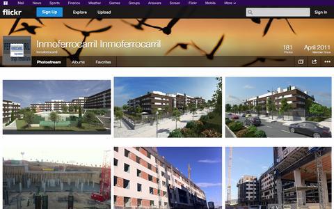 Screenshot of Flickr Page flickr.com - Flickr: Inmoferrocarril's Photostream - captured Oct. 23, 2014