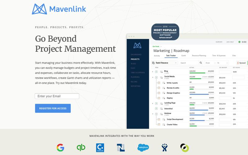 AUS Project Management Software |  Mavenlink