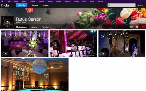 Screenshot of Flickr Page flickr.com - Flickr: Ambient Media's Photostream - captured Oct. 23, 2014
