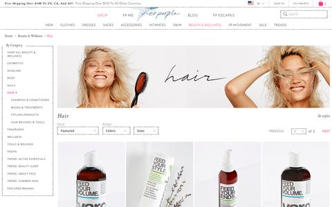 Hair Products | Organic, All Natural & More  | Free People