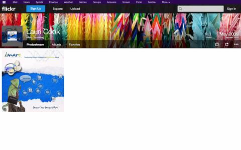 Screenshot of Flickr Page flickr.com - Flickr: iMarc Consulting's Photostream - captured Oct. 23, 2014