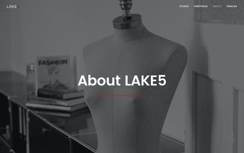 Screenshot of About Page lake5.eu - About | Lake5 - captured Oct. 2, 2016