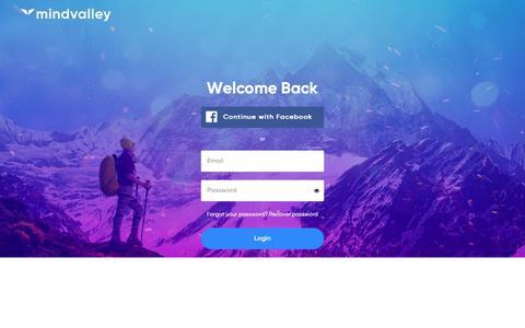 Screenshot of Login Page auth0.com - Welcome Back - captured Nov. 8, 2018