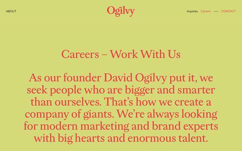 Careers | Ogilvy