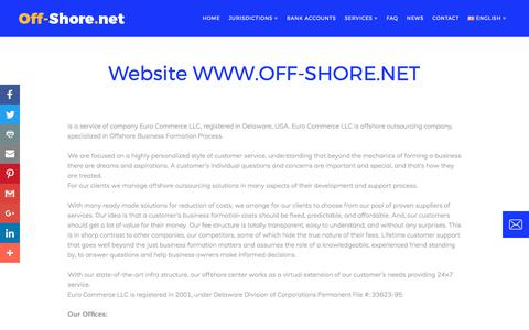 Screenshot of About Page off-shore.net - Off Shore Net About us - captured Oct. 28, 2017