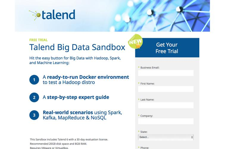 Big Data Sandbox Free Trial with Hadoop Docker Environment