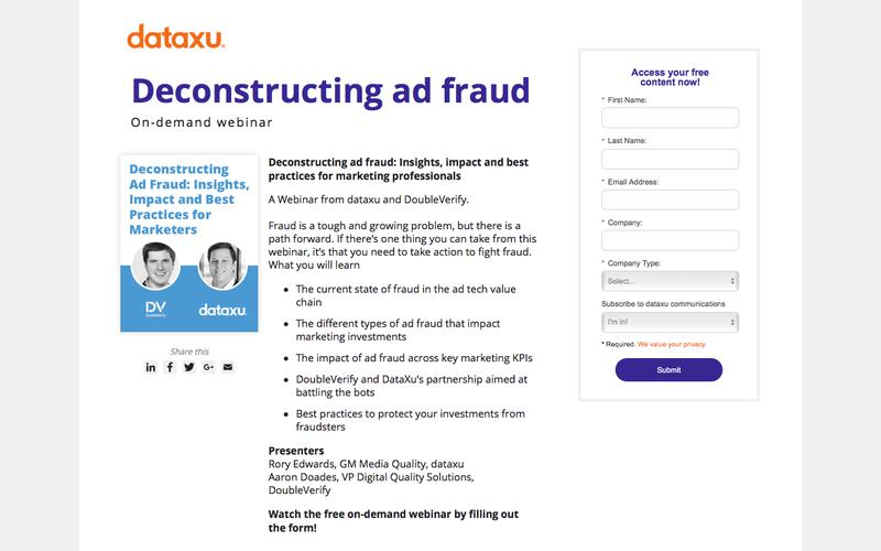 Webinar Replay: Deconstructing Ad Fraud for Marketing Professionals
