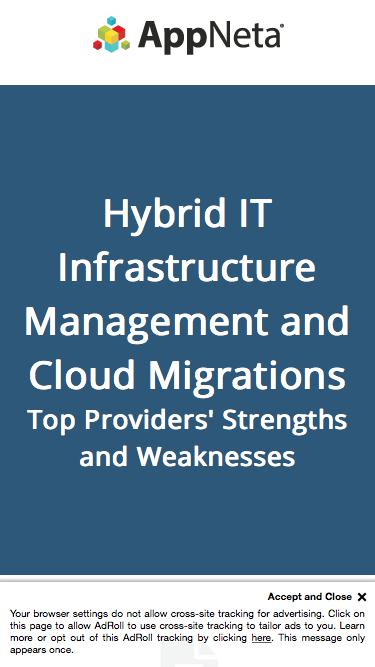 Hybrid IT Infrastructure Management and Cloud Migrations