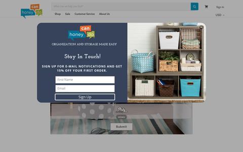 Screenshot of Contact Page honeycando.com - Contact Us HCD — honeycando.com - captured April 16, 2018