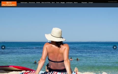 Screenshot of Team Page binto.net - Binto Photography - captured Oct. 5, 2014