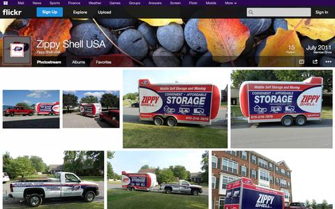 Screenshot of Flickr Page flickr.com - Flickr: Zippy Shell USA's Photostream - captured Oct. 26, 2014