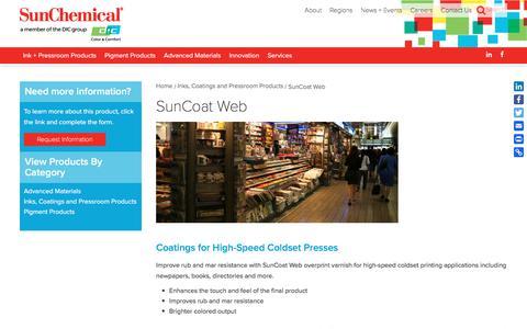 SunCoat Web | Sun Chemical