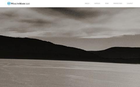 Screenshot of Home Page wealthmarkllc.com - Home | WealthMark LLC | Registered Investment Adviser - captured Sept. 30, 2014