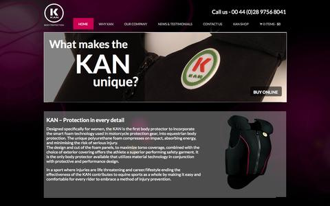 Screenshot of Home Page kanteq.com - Kanteq - captured Oct. 6, 2014