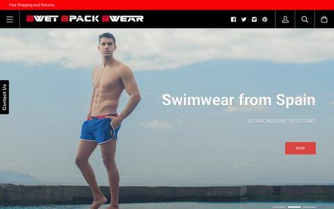 Screenshot of Home Page bwet.com - BCLUB by BWET Swimwear | BWET Swimwear - captured Sept. 10, 2015
